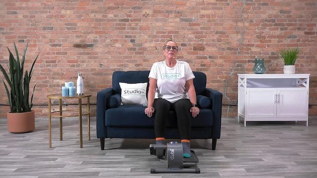 20-Min Cubii Chair Yoga with Anne
