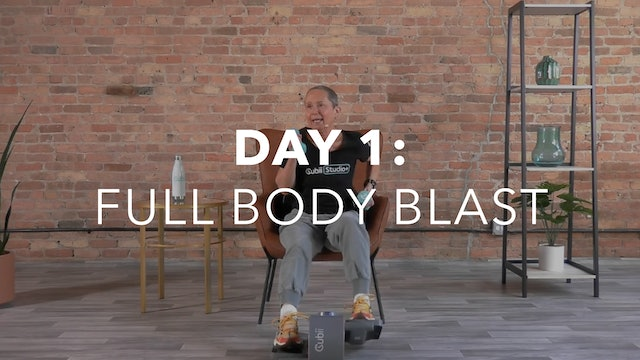 Getting Started Collection Day 1: 30-Min Full Body Blast with Sandi