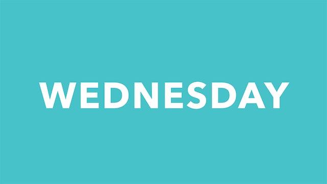 Wednesday 9/15