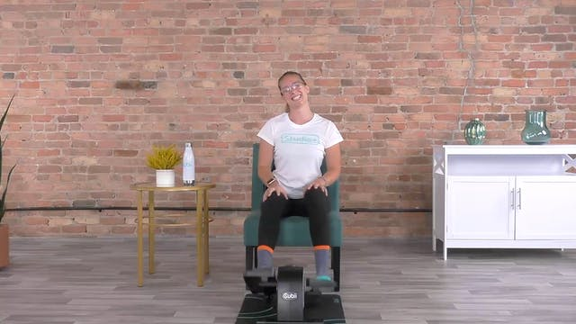 30-Min Cubii Yoga with Lindsey