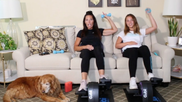 20-Min Full Body HIIT with Carrie