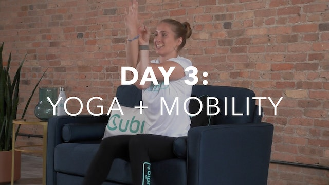 Getting Started Collection Day 3: 20-Min Yoga + Mobility with Lindsey