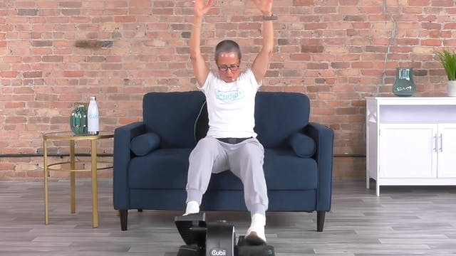 20-Min Cardio Energy Burst with Sandi