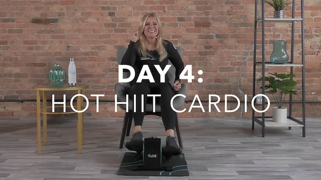 Getting Started Collection Day 4: 15-Min Hot HIIT Cardio with Andrea