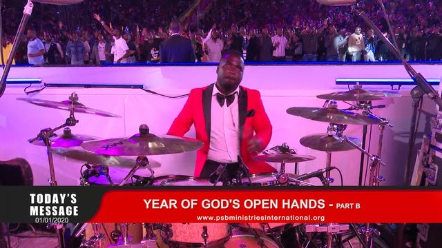 202-01-01 YEAR OF GOD'S OPEN HANDS - PART B
