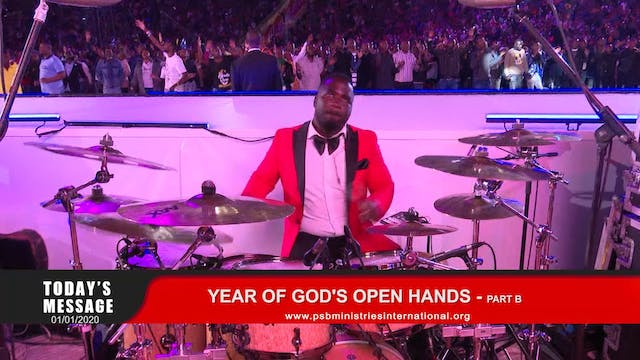 202-01-01 YEAR OF GOD'S OPEN HANDS - ...
