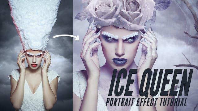 Portrait Effect - Ice queen