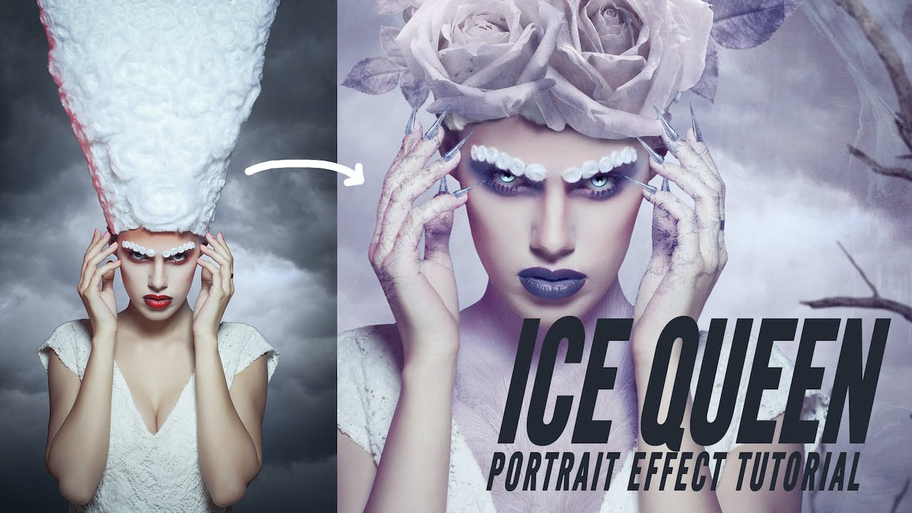 Portrait Effect - Ice queen