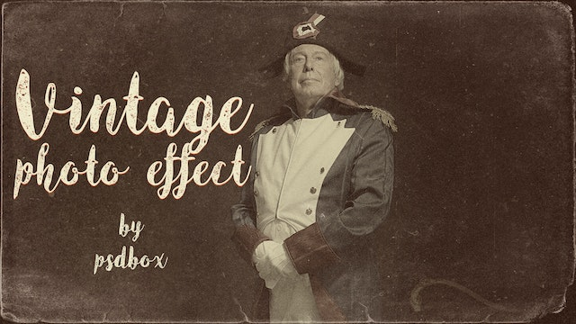 Vintage Photo Effect in Photoshop