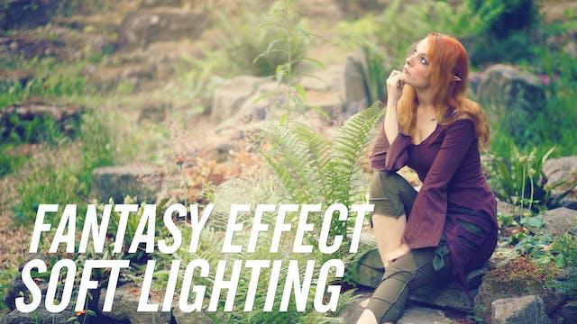 Soft Fantasy Photo Effect