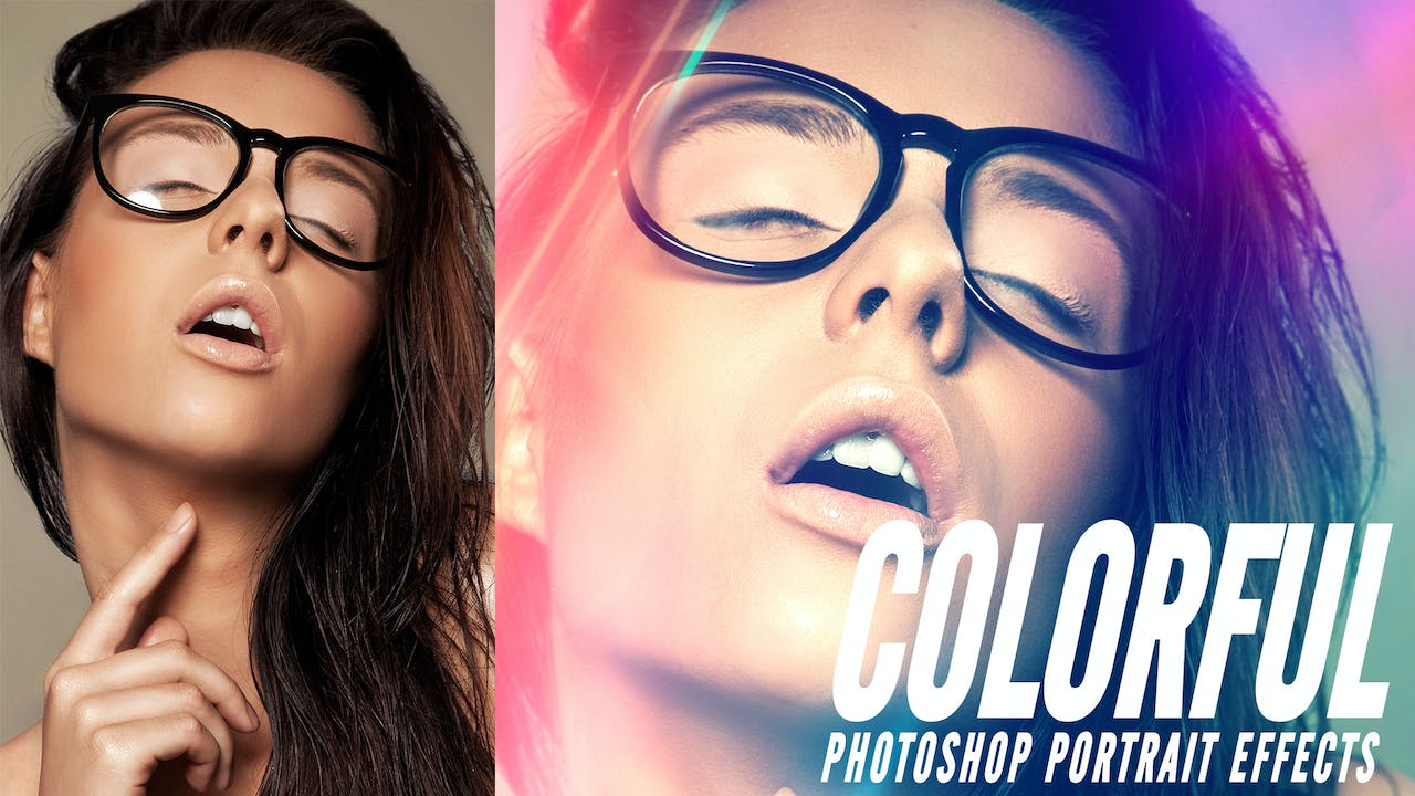 Colorful Portrait Effects in Photoshop