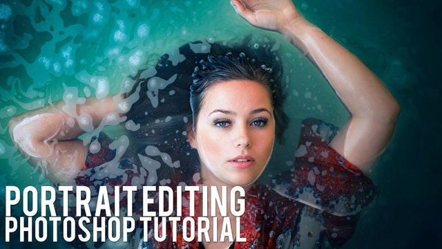 Water Portrait Editing Tutorial