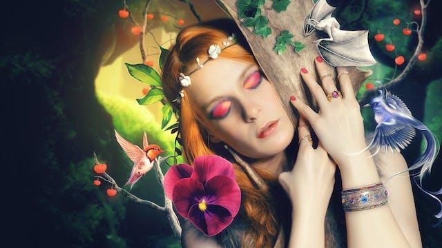 Forest Queen – Manipulation Tutorial