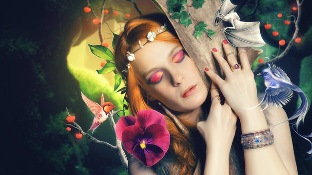 Forest Queen – Manipulation Tutorial