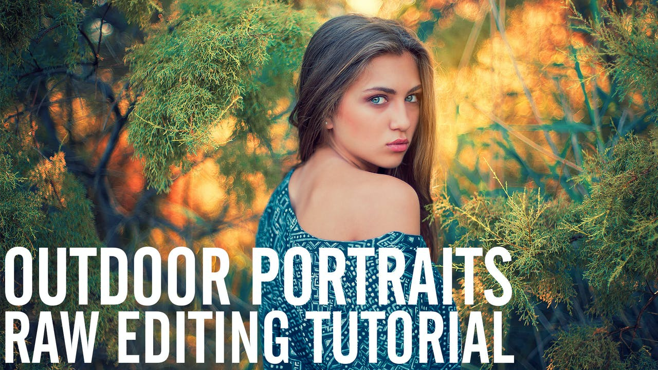 Outdoor RAW Portrait Editing in Photoshop