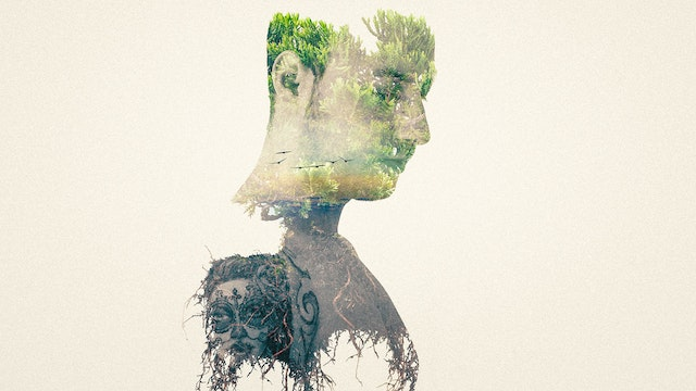 Double Exposure Portrait in Photoshop