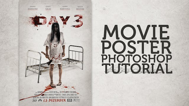 Day 3 - Movie Poster Tutorial