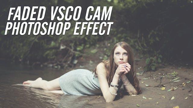 VSCO Photoshop Effect