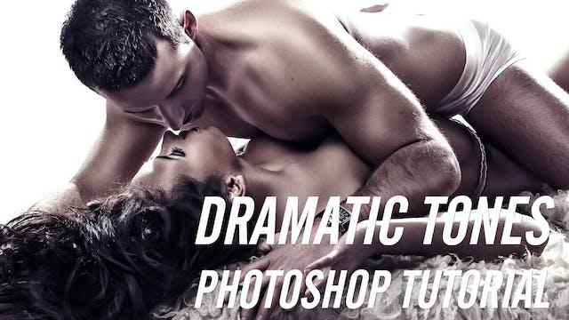 Dramatic Skin Retouching Technique