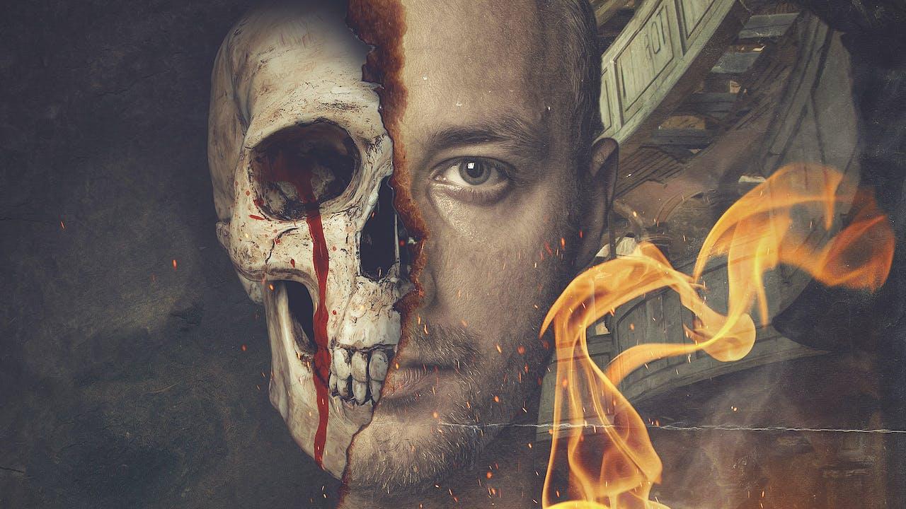 Skull Portrait Photoshop Manipulation