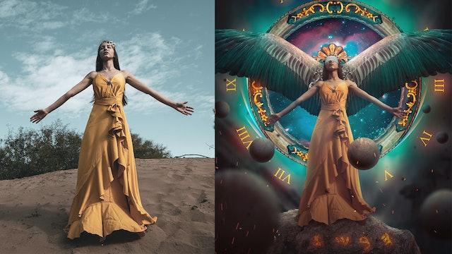 Time Goddess - Advanced Fantasy Photoshop Tutorial