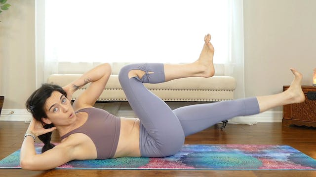 Power Yoga For Core Strength