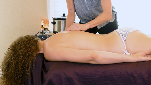 Back Massage Demonstration & Bonus Tips with Jade