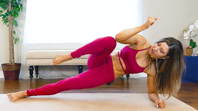 HIIT Workout For Abs with Hannah