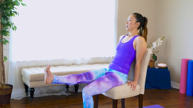 Chair or Office Yoga for Stress and Pain Relief