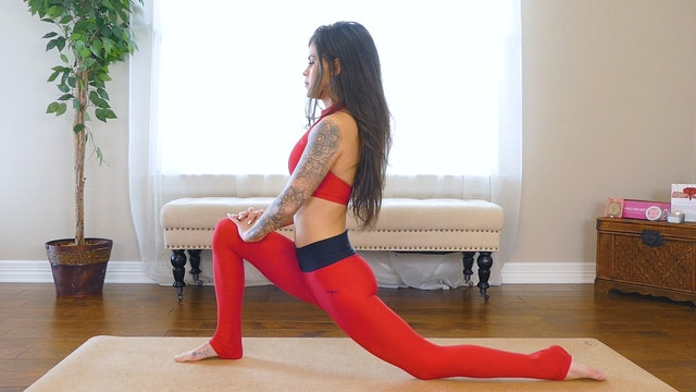 Yoga Flow for Back Pain After Sitting Long Periods of Time