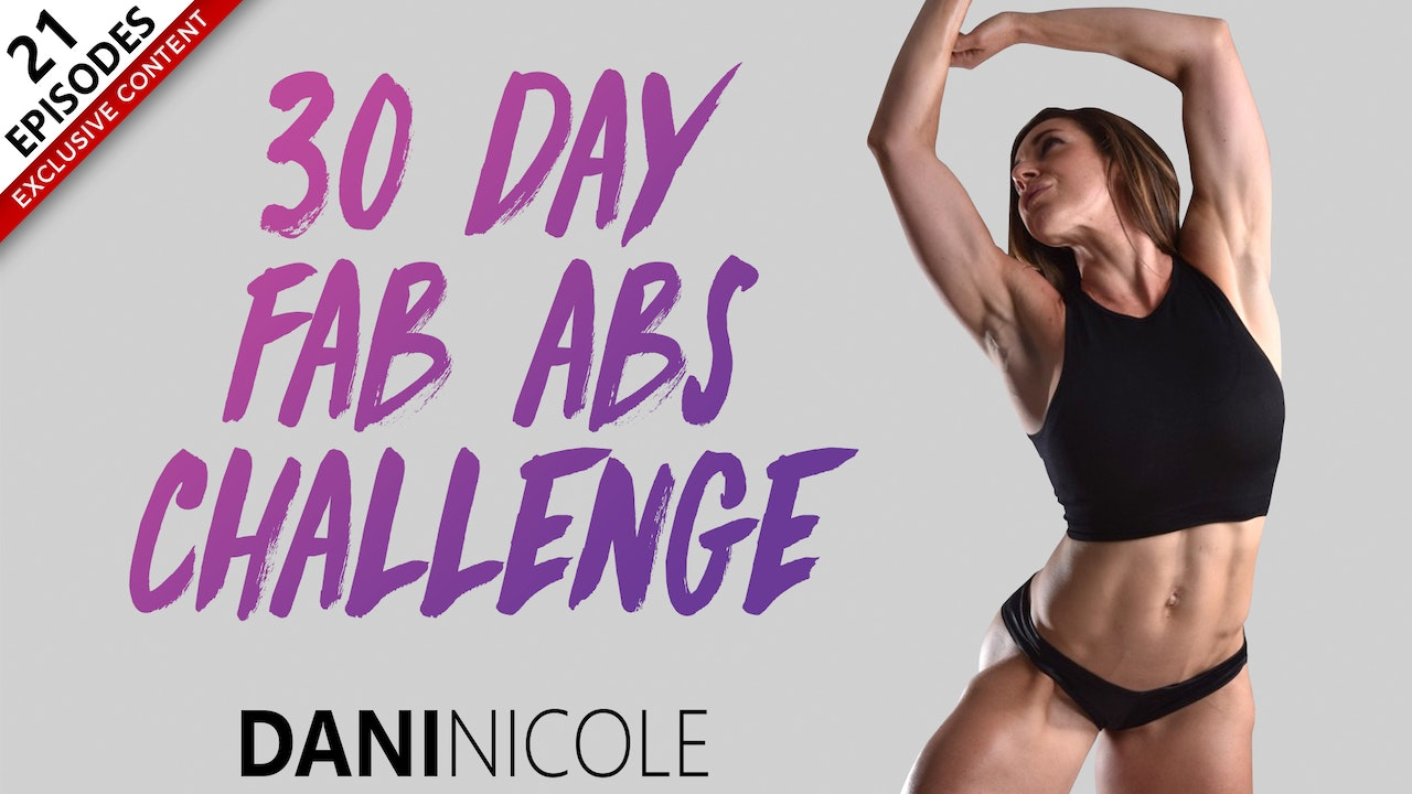 30 Day Fab Ab Challenge
