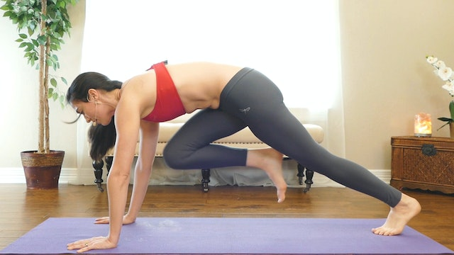 Day 12 - Power Yoga HIIT Workout, Total Body Cardio