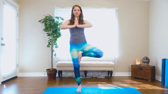 Intermediate Yoga to Uplift Mood & Energize
