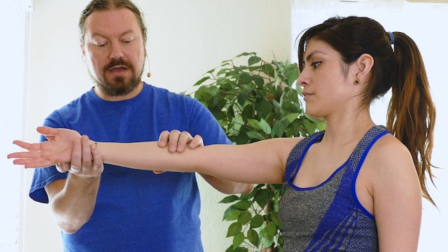 Yoga Massage: Arm, Hand & Wrist Pain for Down Dog