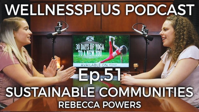 Natural Living, EcoVillages, and Sustainable Off-Grid Communities with Rebecca P