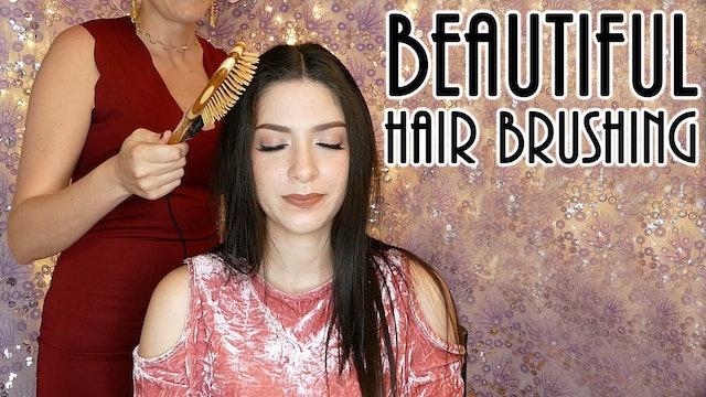 Natalia, Relaxing Hair Brushing with Brush Mics