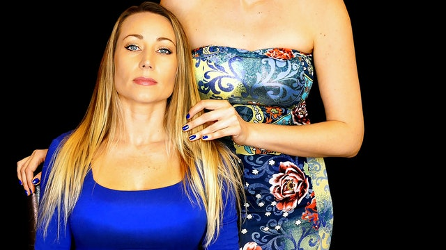 Scalp Massage & Binaural Whispers, Corrina & Becca