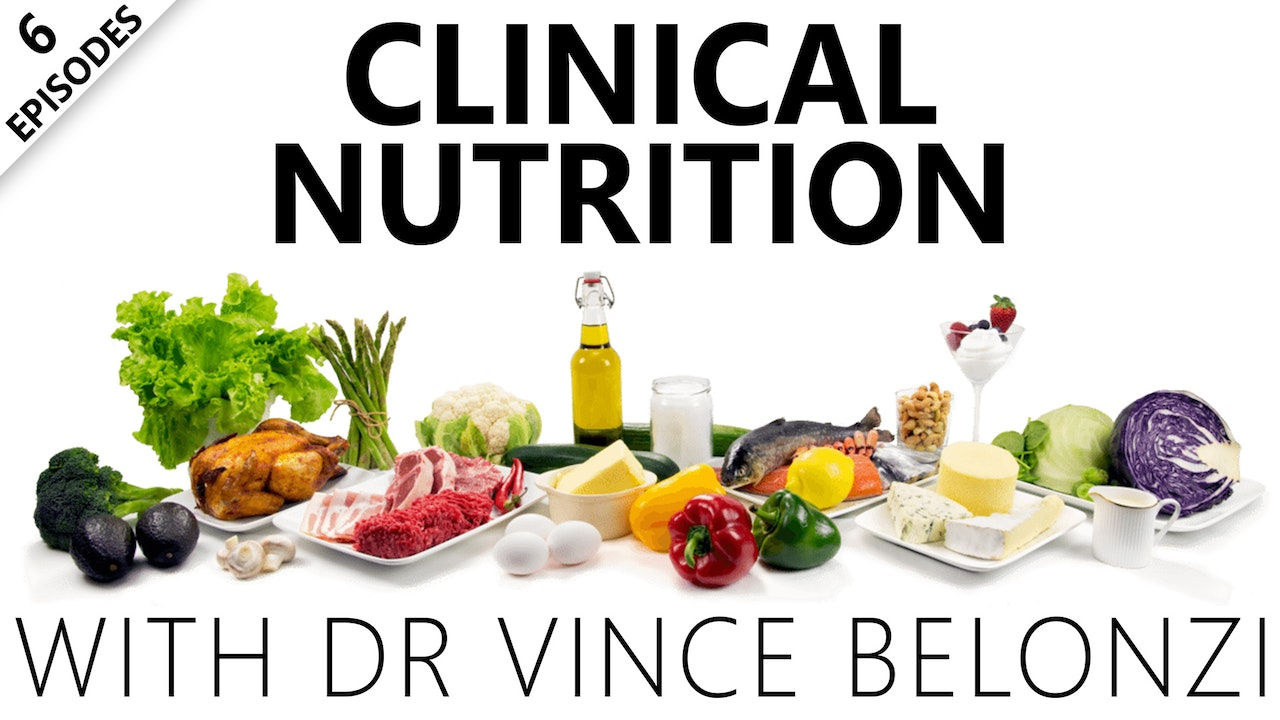 Clinical Nutrition With Dr Vince Belonzi