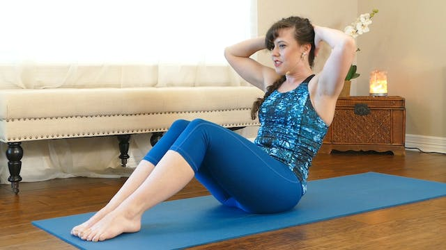 Deep Ab Pilates Workout with Kait