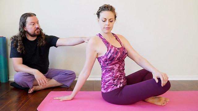 Self Massage Upper Back