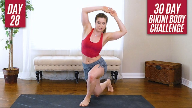 Day 28: Full Body Hourglass Workout