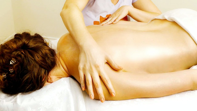 Soft-Spoken Massage with Oil, Melissa & Corrina