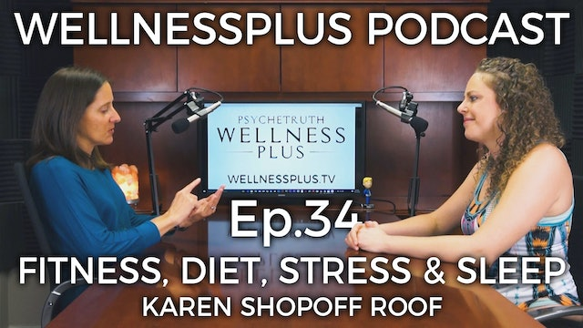 The Perfect Balance: Fitness, Diet, Stress, and Sleep with Karen Shopoff Rooff