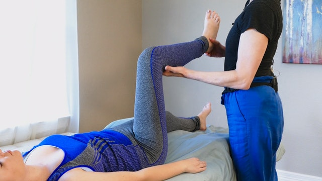 Sports Massage with Jade: Stretches!