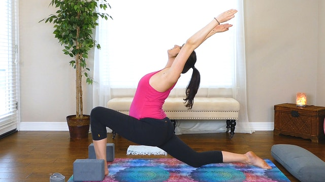 Prenatal Yoga for the Root Chakra and Hip Opening Stretches