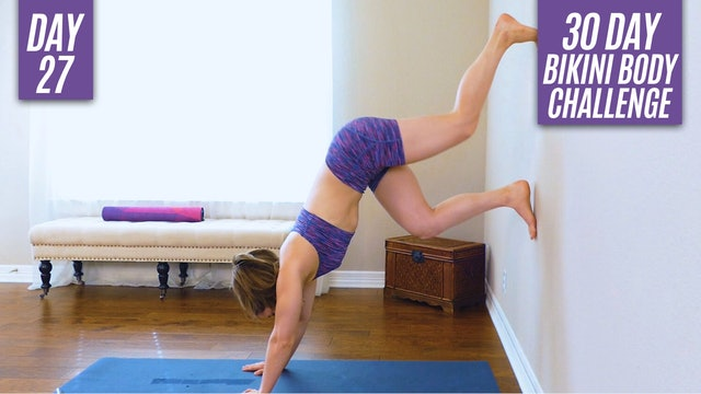 Day 27: Full Body Wall Workout