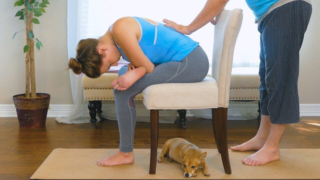 Chair Massage for Lower Back