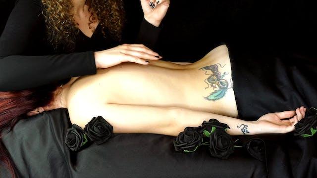 ASMR Corrina Lexi Skin Sounds Back Ma...