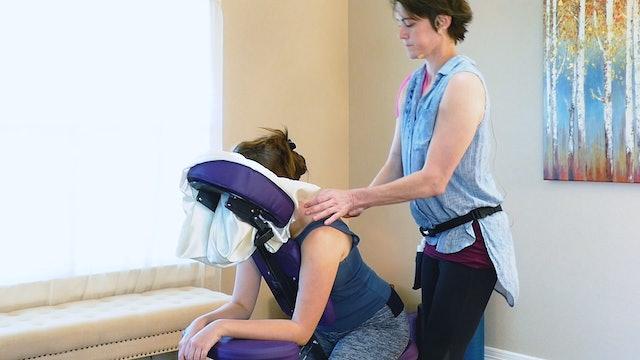 Relaxing Chair Massage Tutorial