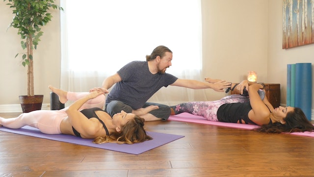 Yoga Flow For Lower Back Pain